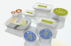 Embalagens para comida Congelada. Packaging System for frozen food.