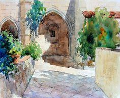 Rafael Pujals Claustre de Sant Jeroni de la Murtra - Badalona