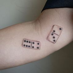 Falling dominoes 🤭thank you 4 this fun placement danielle 🖤 Mother Son Tattoos, Baby Name Tattoos, Tattoos With Kids Names, Symbol For Family Tattoo, Tattoo For Son, Family Tattoos, Small Tattoo Designs, Small Tattoos, Tattoo Small