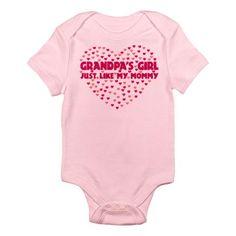 Grandpa's Girl Infant Bodysuit