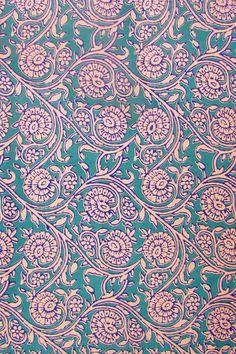 Block Printed Running Cotton Fabric Plaid Fabric, Cotton Fabric, Textile Patterns, Print Patterns, Ajrakh Prints, Plum Art, Dont Drink And Drive, Batik Pattern, Retro Floral