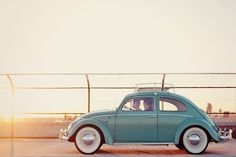 Turquoise Beetle with whitewalls! just make it flat and distressed~!