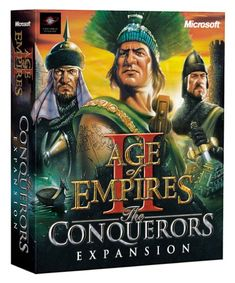 Age of Empires II Expansion: The Age of Conquerors. I have played this game for probably hours or more. Real Time Strategy, Strategy Games, All Games, Games To Play, Games Box, Xbox Games, Dracula, Age Of Empires 2, Age Of King