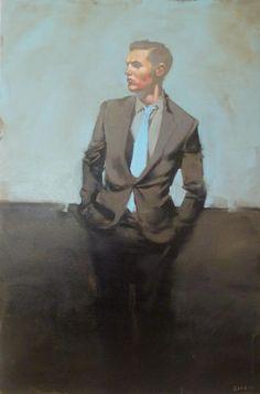 Michael Carson painter oil on canvas
