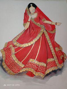 Fashion Illustration Dresses, Fashion Sketches, Bridal Lehenga, Bridal Gowns, Dress Design Drawing, Wedding Dress Sketches, Indian Wedding Wear, Princess Drawings, Fashion Wear
