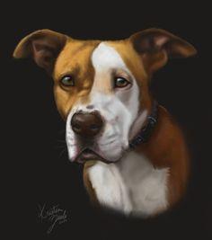 Pet Portrait Commission by NatsumeWolf on DeviantArt