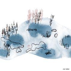 """Taufe"" | Illustration Silke Müller"