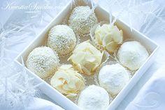 (PL) Białe truffle czekoladowe