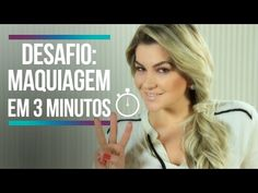 Como fazer maquiagem em 3 minutos | Alice Salazar