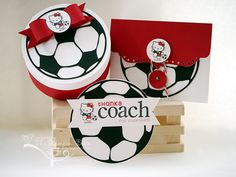 paper crafts for your soccer coach