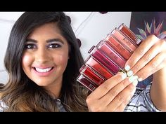 NEW Milani AMORE MATTE Lip Crèmes: Review & Lip Swatches! - YouTube