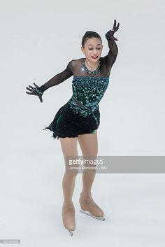 Sophie Abrams of Israel competes during the Junior Ladies Free Skating on day three of the ISU Junior Grand Prix of Figure Skating on September 17, 2016 in Saransk, Russia.