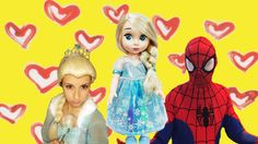 #Maleficent and #Black_Spiderman steal the #baby of #Spiderman And #Elsa…