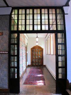 William Morris Fan Club: Red House Hallways....Welcome