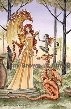 PRINTS-OPEN EDITION - Dragons - Amy Brown Fairy Art - The Official Gallery