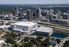 Home of the (NBA franchise) Orlando Magic: the Amway Center | Orlando FL