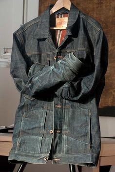 Edwin sevldege denim jacket   Let it grow whiskers. Retro Mode, Des  Vêtements, 84ae4afbfc17
