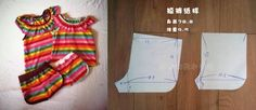 quần Sewing Patterns Free, Baby Patterns, Free Sewing, Sewing Tutorials, Lenceria Calvin Klein, Sewing For Kids, Kids Wear, Diy And Crafts, Summer Dresses