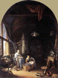 Gerrit Dou (1613 – 1675, Dutch)
