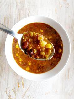 Čočková polévka s kukuřicí - DIETA.CZ