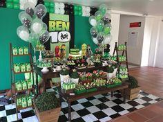 Decoração festa Ben 10
