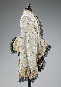 Mantle, ca 1885, probably French - the MET