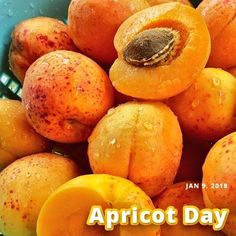"January 9th is 🍑 National Apricot Day 🍑   Happy #NationalApricotDay!   #TuesdayThoughts  #Jesus:  ""Give us this day our daily bread."" (Matthew 6:11; Luke 11:3)    ""I was hungry and you gave me food,..As you did it to one of the least of these my brothers, you did it to me."" (Matthew 25:35-36)     #God #HolySpirit #Christ #Bible #Christian #Prayer #Salvation #Savior #Faith #Grace #Truth #Righteousness #Eternal #Life"