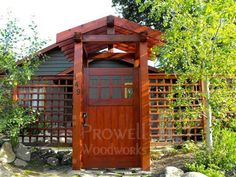 Prowells Craftsman Fence Gate