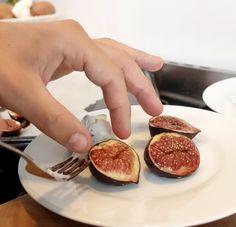 Gekarameliseerde vijgen, pistachenoten en ricotta. Mijn idee voor een heerlijk dessert.