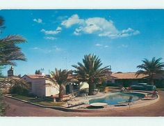 Pre 1980 Old Cars Coronado Motor Motel El Centro California CA