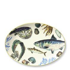 Williams-Sonoma Fish Platter | ... | Williams-sonoma.com | Colorful French Tableware | Williams-Sonoma