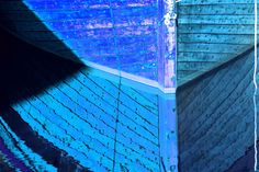 Blått Speil