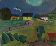 Gabriele Munter Farm Houses