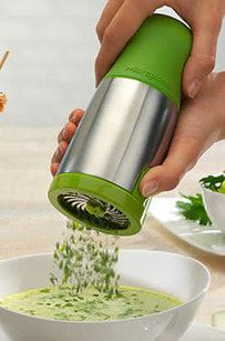 Herb-Grinding Mill Because who actually has time to finely chop those fresh herbs with a knife? Available from Target for $24.95.
