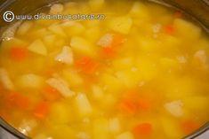 SUPA-CREMA-DE-CARTOFI-2 Chana Masala, Bacon, Ethnic Recipes, Food, Essen, Meals, Yemek, Pork Belly, Eten