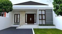 rustic home decor diy projects using exterior house design app android with indian house paint design exterior for house plans modern bungalow House Paint Design, Small House Design, Modern House Design, Minimalist House Design, Minimalist Home Decor, Minimalist Interior, Minimalist Kitchen, Minimalist Living, Minimalist Bedroom