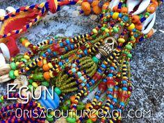 Opa Egun For inquires, please send an email to OrisaCouture@aol.com #opa #egun #orisa #orisha #lukumi #santeria #yoruba #diaspora #orisacouture