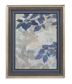 Aquavelle Shadows II Framed Painting Print