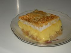Good Food, Food And Drink, Pie, Cooking Recipes, Pudding, Favorite Recipes, Sweets, Baking, Desserts