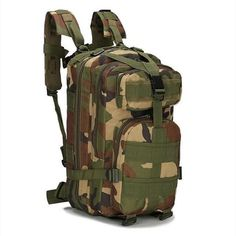 2019 New Outdoor Tactical Backpack Military Molle Bag Army Sport Travel Rucksack Camping Hiking Trekking Camouflage Bag Climbing Backpack, Camo Backpack, Rucksack Backpack, Hiking Backpack, Laptop Backpack, Survival Backpack, Hiking Bag, Travel Backpack, Travel Bags