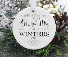 First Christmas Married Gifts