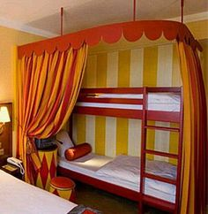 circus decor for the home | Circus Kids Bedroom Furniture Sets Designer Kids Bedroom Ideas Circus ...