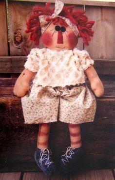 Raggedy Ann - looks like she's headed to the gym.