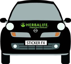HERBALIFE Independent Distributor Full Set Car stickers advertising signs decals