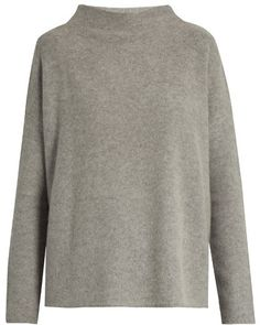 VINCE Cashmere boat-neck sweater