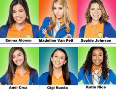Female characters from Every Witch Way