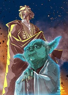 Sweet artwork from the epic scene in Last Jedi with Yoda and Luke. Star Wars Fan Art, Ghibli, Starwars, Jedi Sith, Jedi Knight, Star Wars Wallpaper, Star Wars Jedi, Star Wars Poster, Star Wars Collection