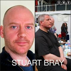 We are happy to be welcoming back the wonderful Stuart Bray to UMAexpo 2014.  Stuart is an amazing special effects makeup artist who specialises in all the processes involved in making prosthetic appliances and make-up effects. Find Stuart at the PS Composites booth where he will be doing an amazing make-up demonstration using PRO-GEL 10.