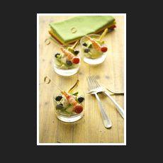 Ensalada de aguacate con patata y cebolla asada