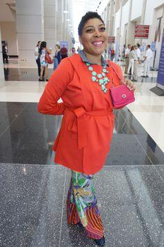 Love her style @terezbaskin at #BlogHer13